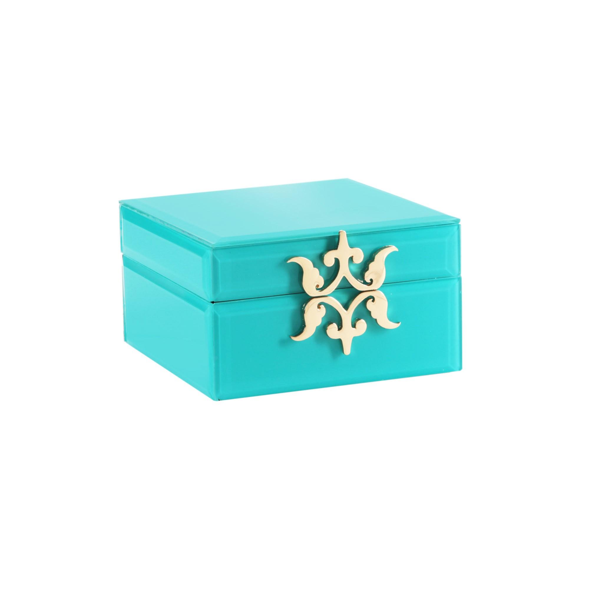 Tracy Porter Square Glass Jewelry Box