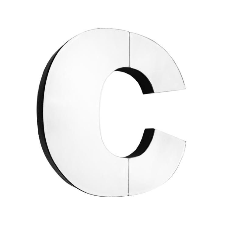 American Atelier Mirror Monogram Letter C