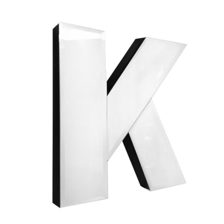 American Atelier Mirror Monogram Letter K