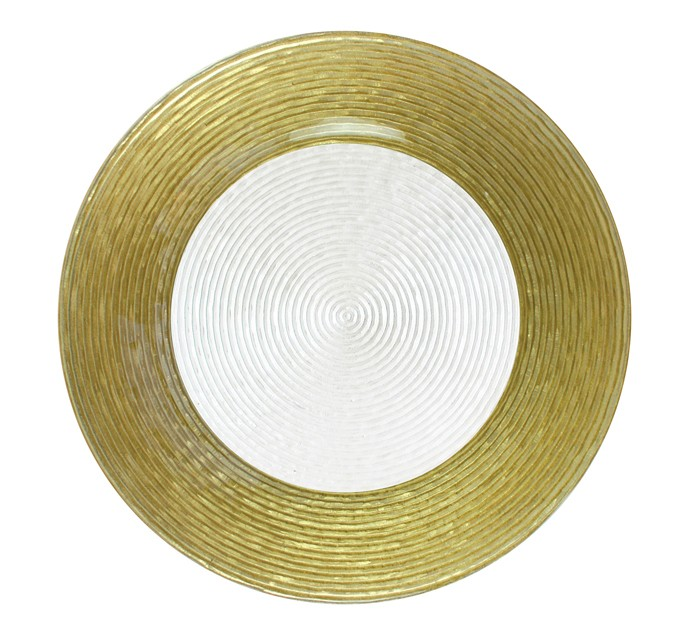 Round Circus Border Charger Plate
