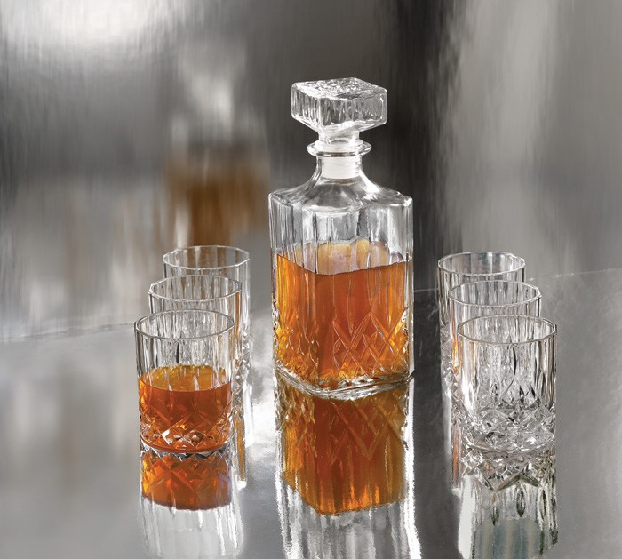 Style Setter Denmark 7-Piece Whiskey Glass Set
