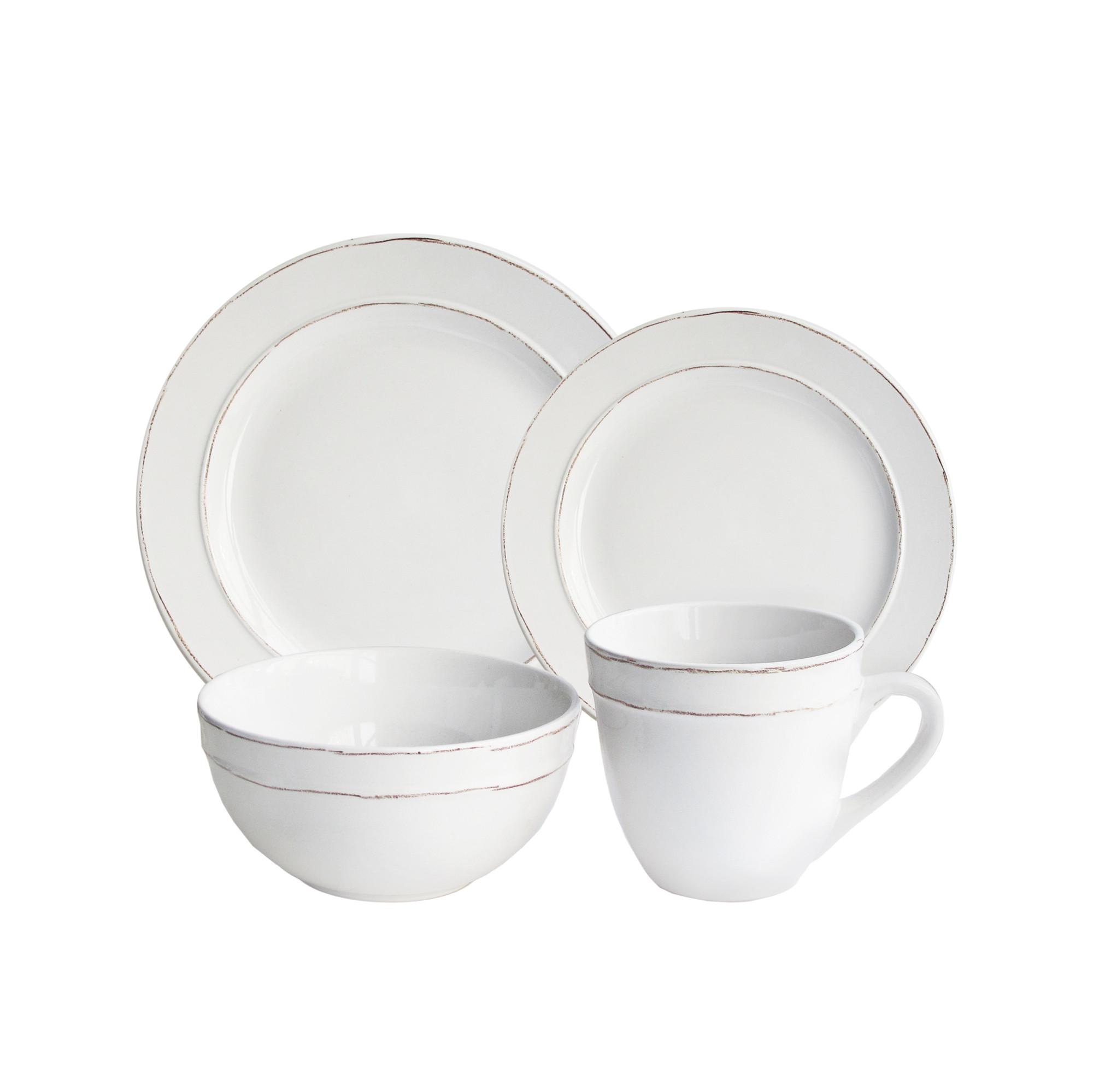 American Atelier Olivia 16 Piece Dinnerware Set