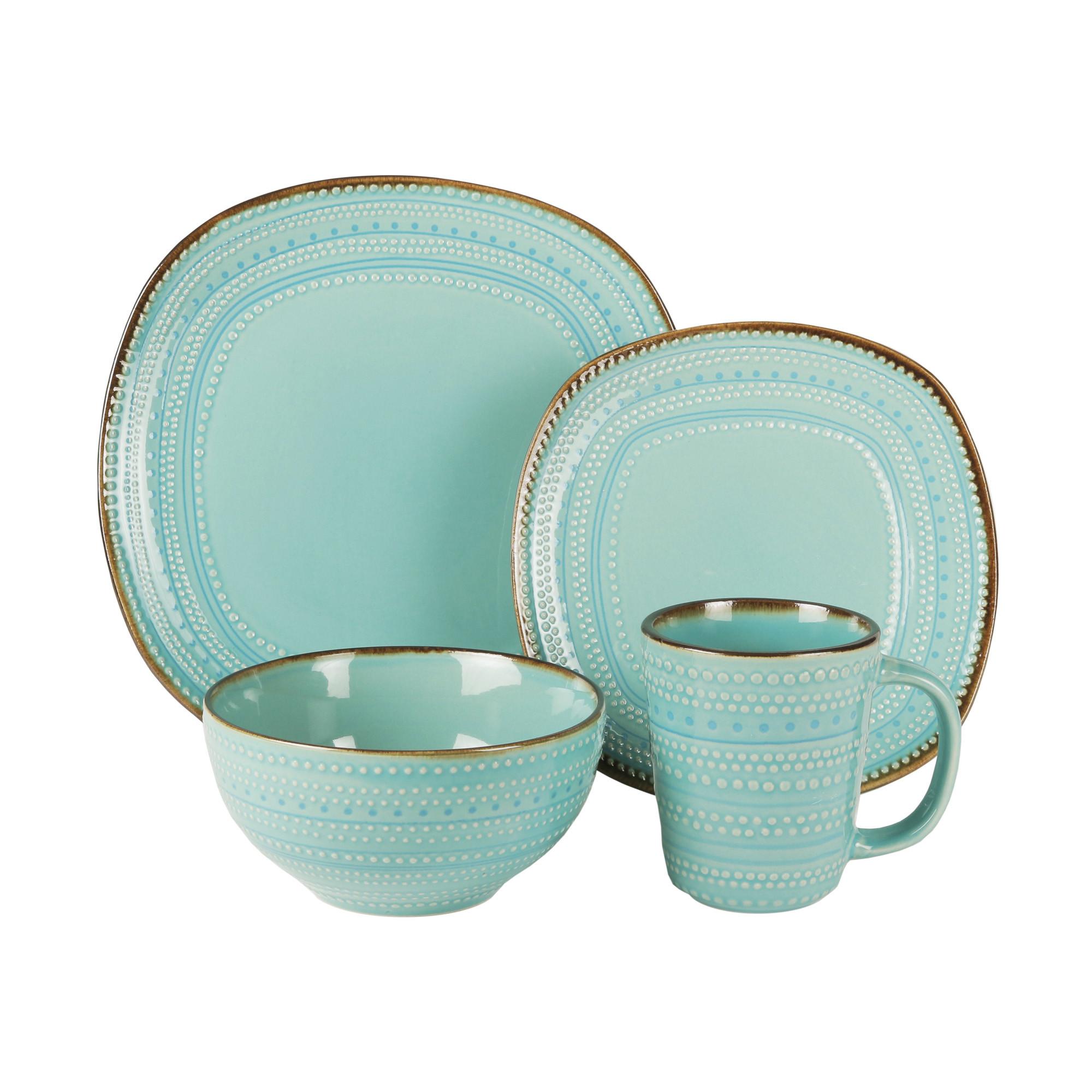 American Atelier Tallulah 16 Piece Dinnerware Set