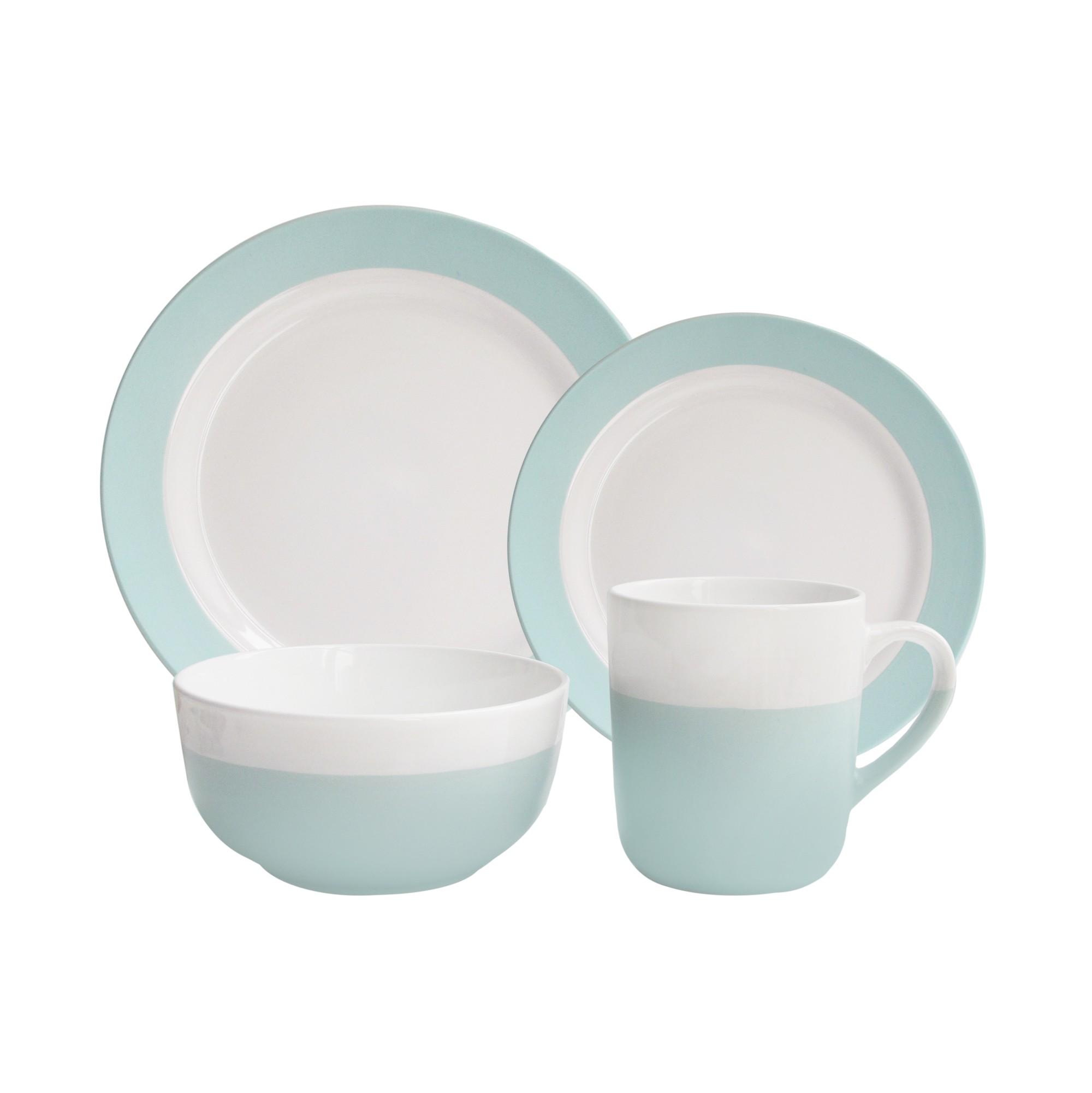 American Atelier Serene 16 Piece Dinnerware Set