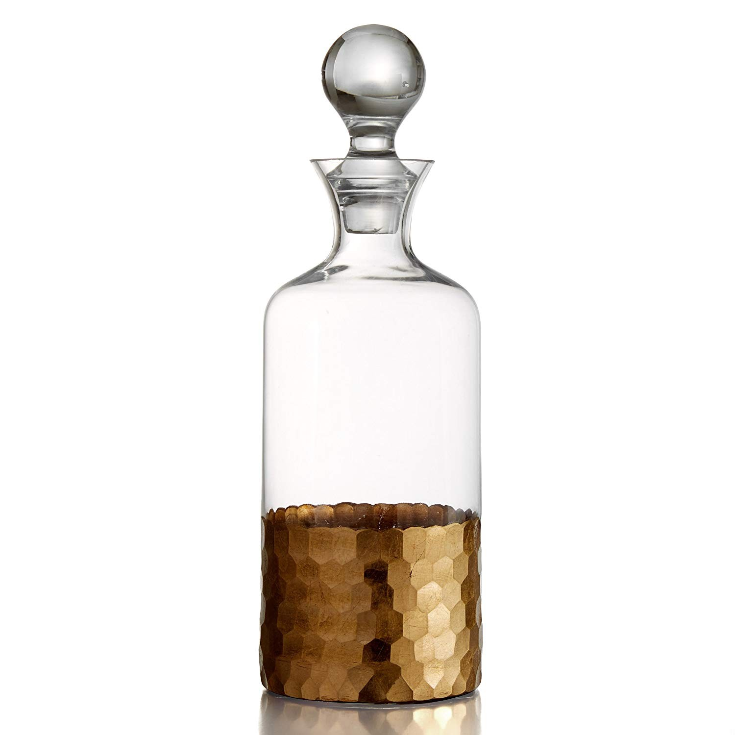 Fitz and Floyd Daphne Decanter, Gold