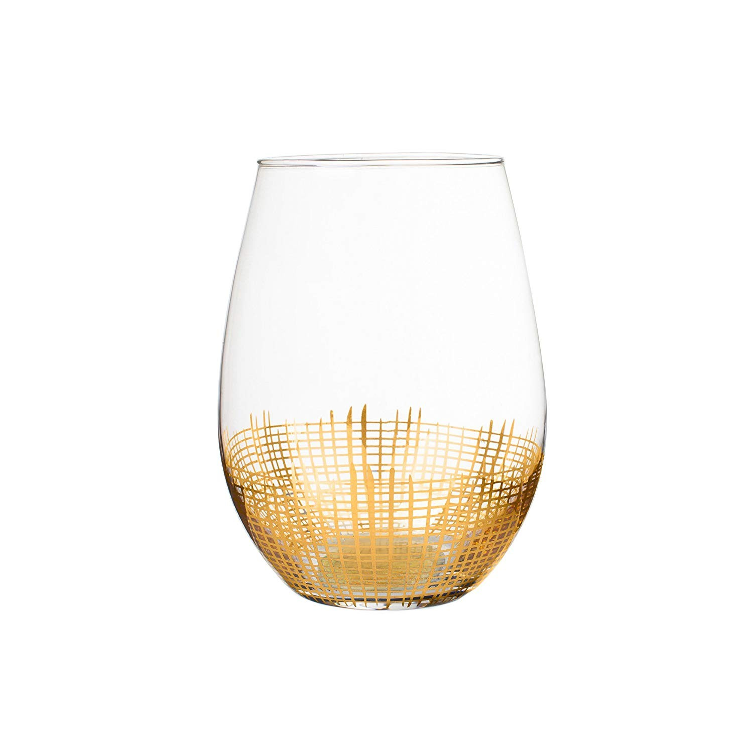 Fitz and Floyd 229132-4ST Stemless Goblets