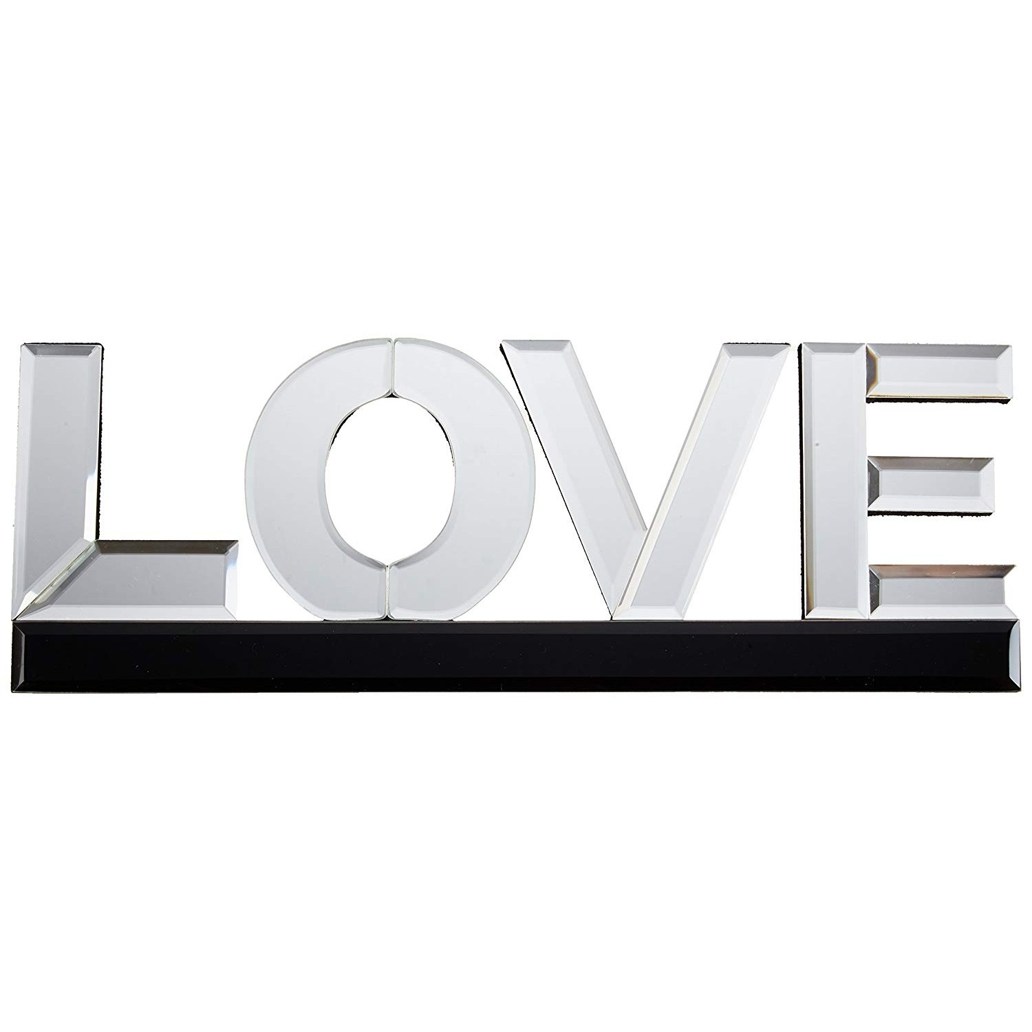 "American Atelier Mirror Word Art ""Love"""