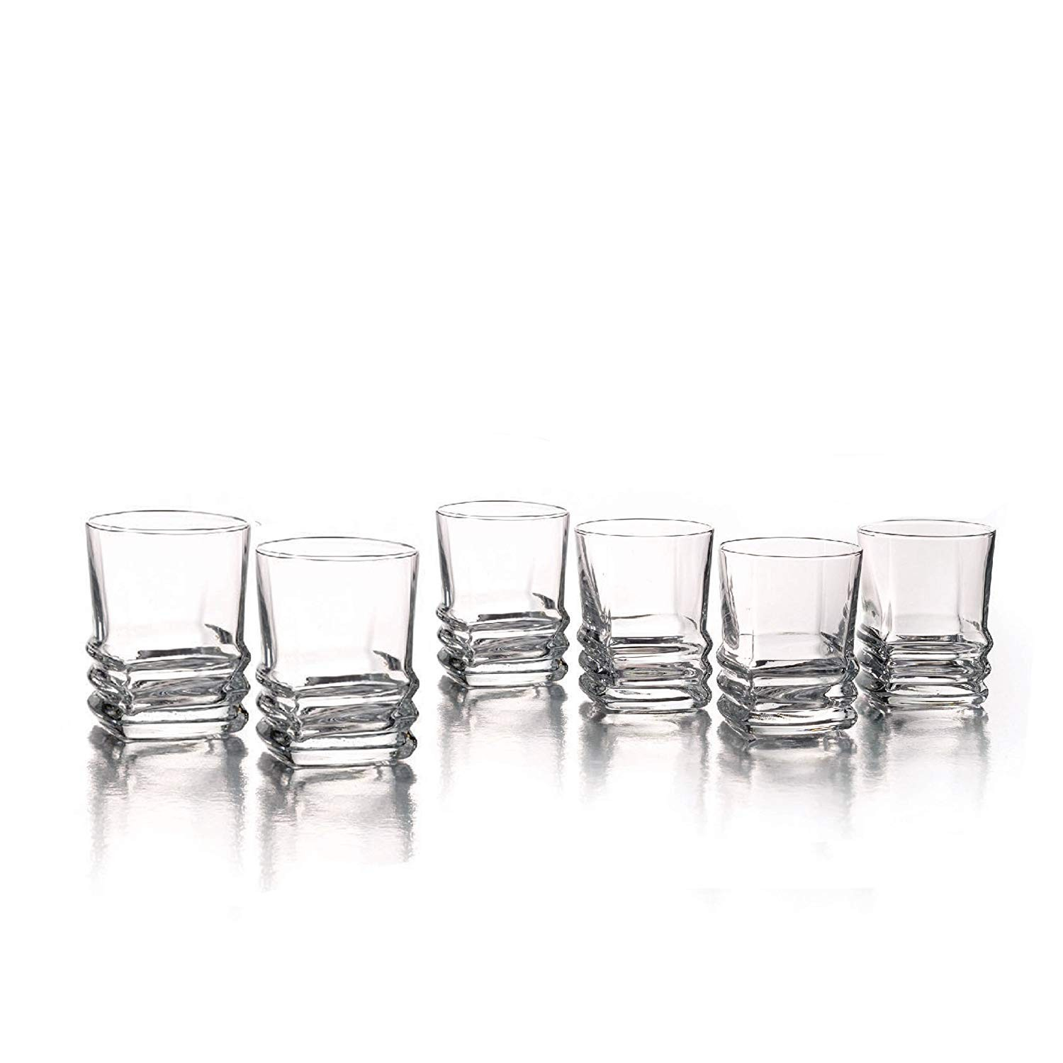 Style Setter 229159-GB Piazza Shot Glasses (Set of 6), Clear