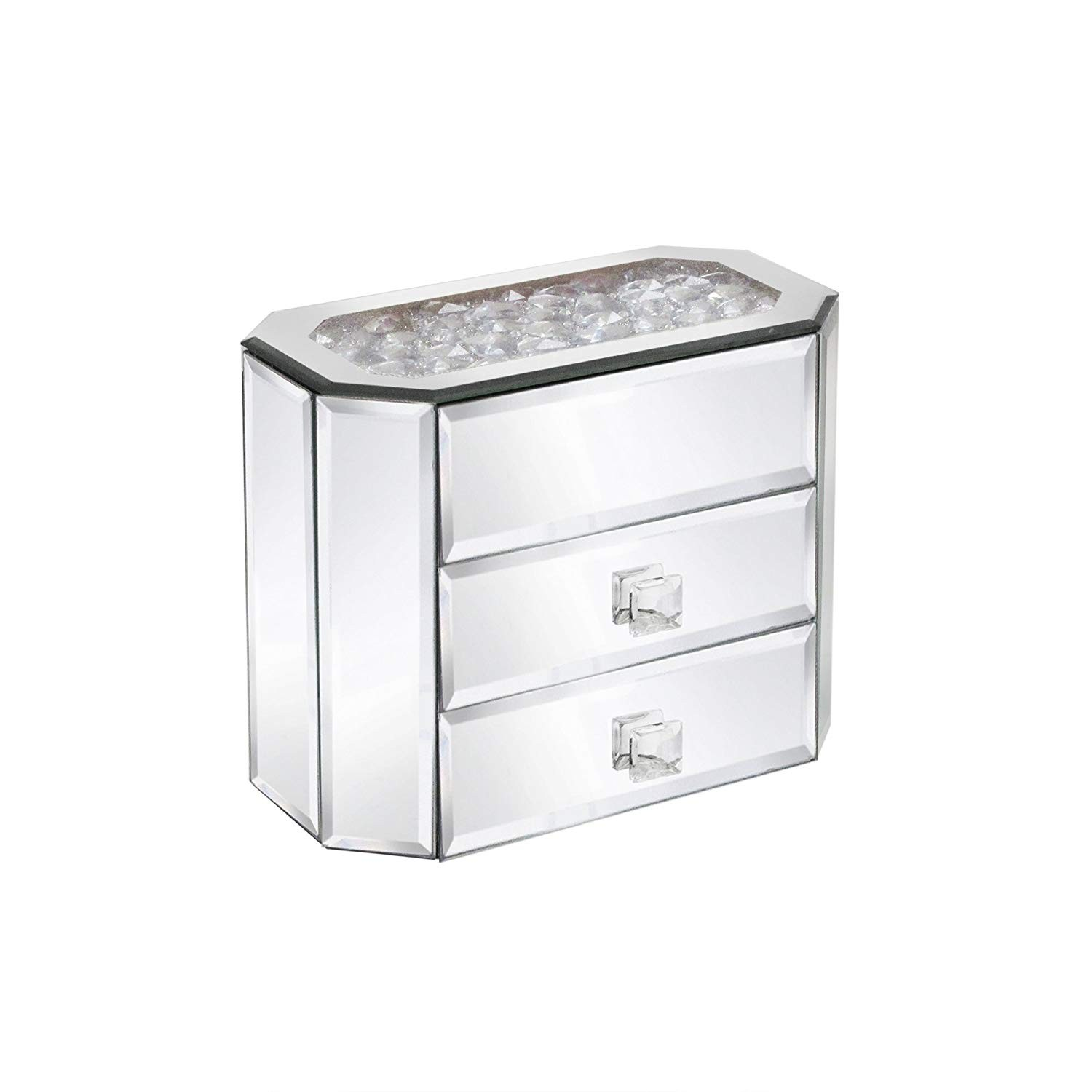 American Atelier Jewel Box Jewelry Box, Silver