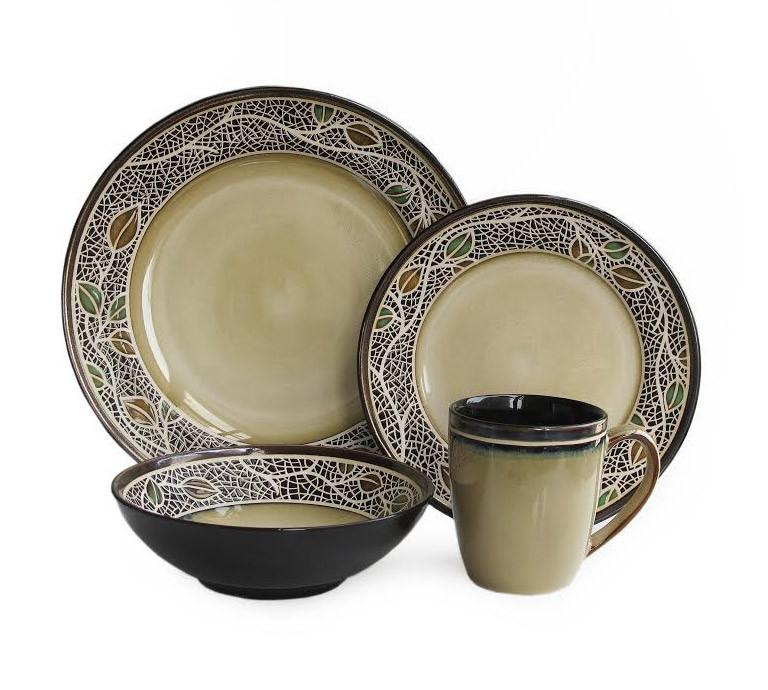 American Atelier Cordoba 16 Piece Dinnerware Set