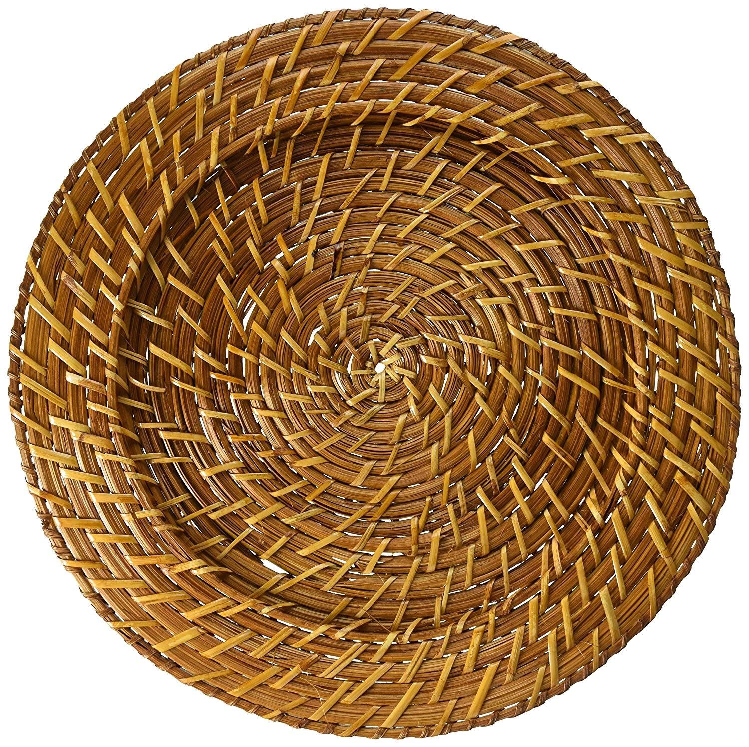 ChargeIt by Jay Natural Rattan Charger Plate