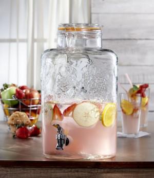 Style Setter Vineyard Fruit Beverage Dispenser
