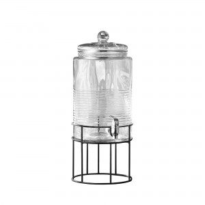 Style Setter Covina Beverage Dispenser with Metal Stand