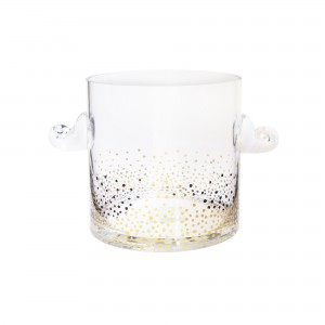 Fitz & Floyd Gold Luster Ice Bucket