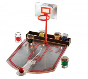 Game Night Drinking Basketball Game Set