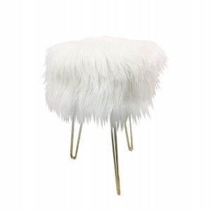 Design Guild Emma Foot Stool, White