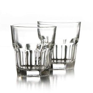 Style Setter Newport Old Fashions (Set of 6), Clear