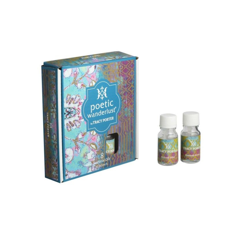 Tracy Porter Assorted 8 Essential Oils – Orchard Valley, Mountain Breeze, Mandarin Medley and Morning Pastry