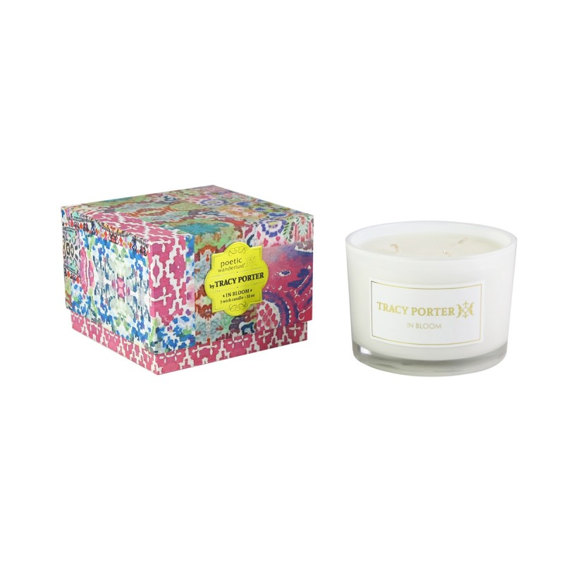 Tracy Porter In Bloom 12 oz Three Wick Candle