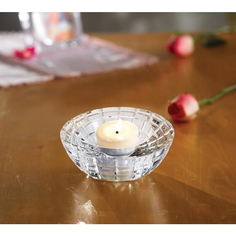 Fifth Avenue Crystal Emerald Round Votive