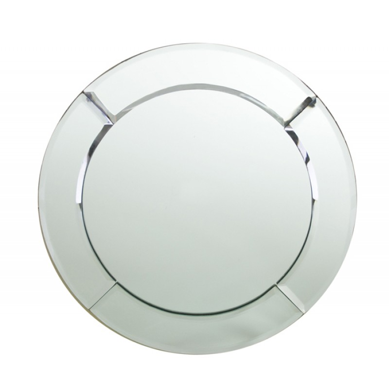Chargeit! By Jay Round Mirror Charger Plate