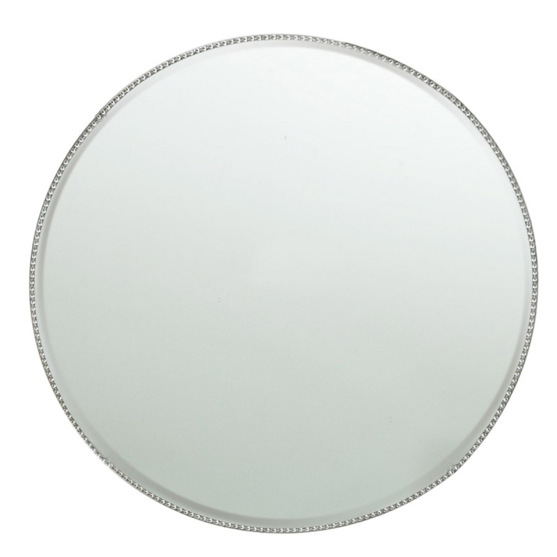 Chargeit! By Jay Bead Mirror Charger Plate
