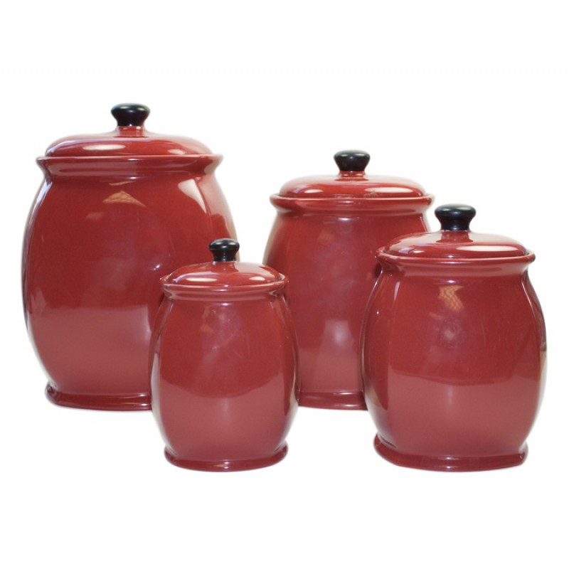 Hearthstone Chili Red Canister Set