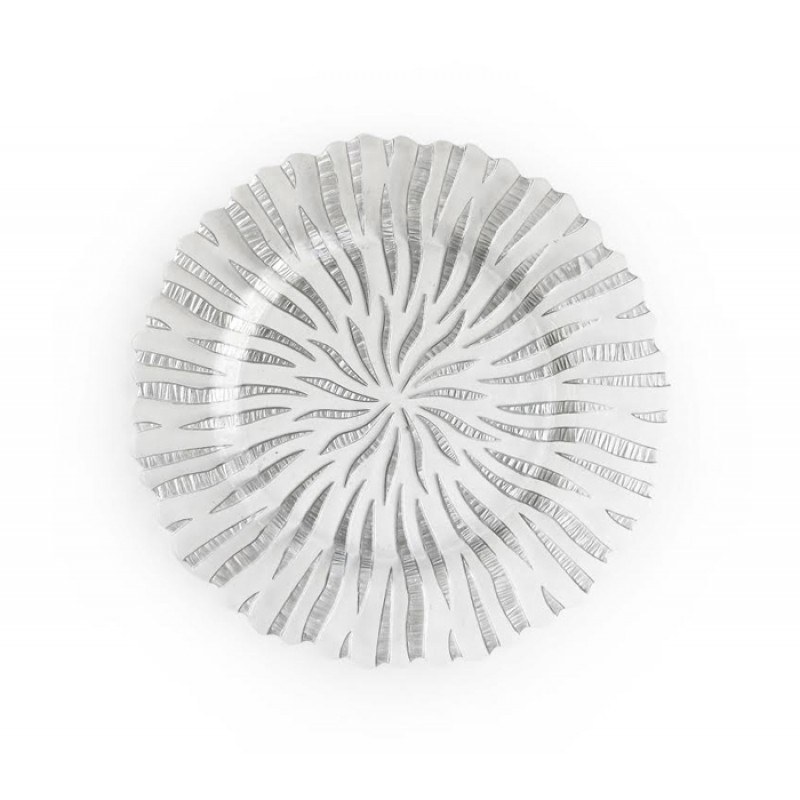 Round Halley Glass Charger Plate