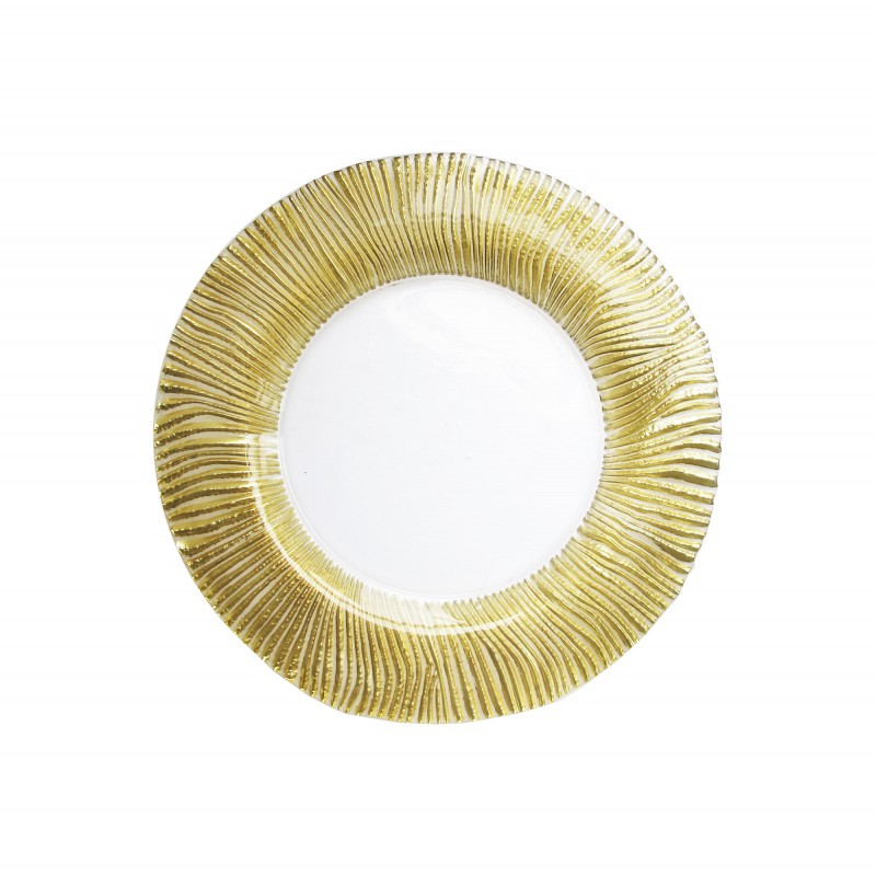Nilo Glass Charger Plate