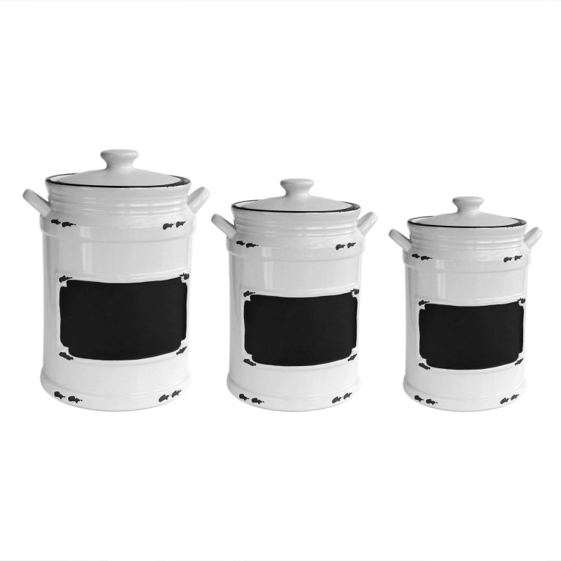American Atelier Vintage 3 Piece Canister Set