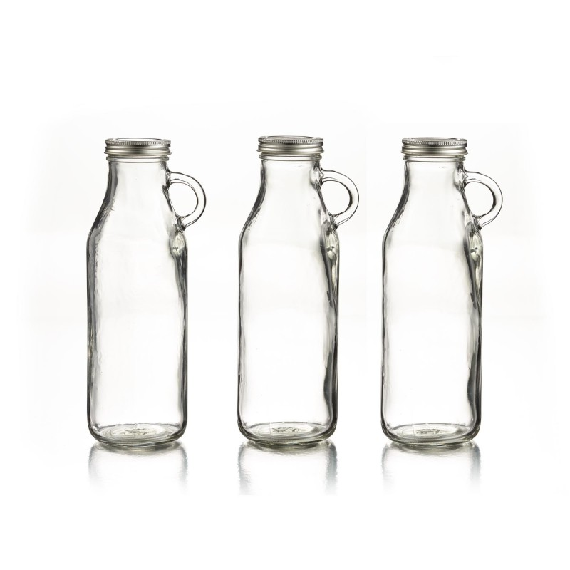 Style Setter Set of 3 Milk Bottles