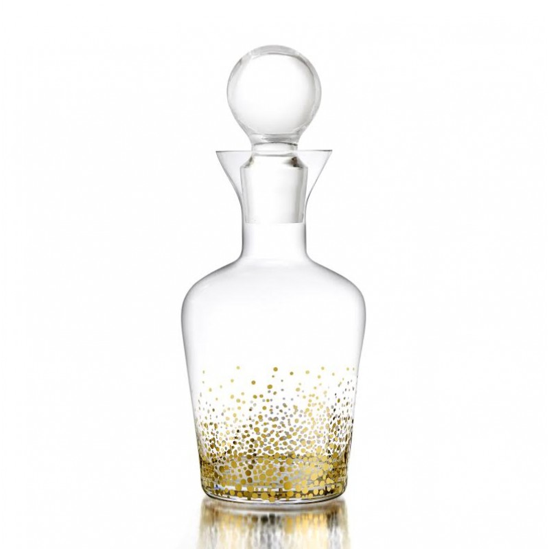 Fitz & Floyd Gold Luster Decanter