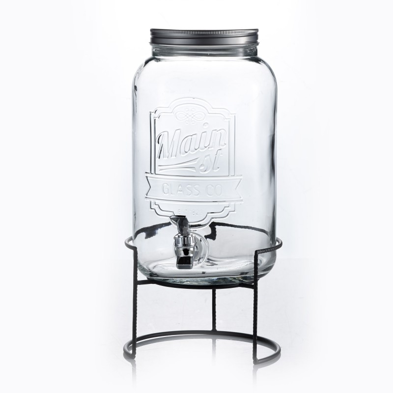 Style Setter Main Street Beverage Dispenser with Stand
