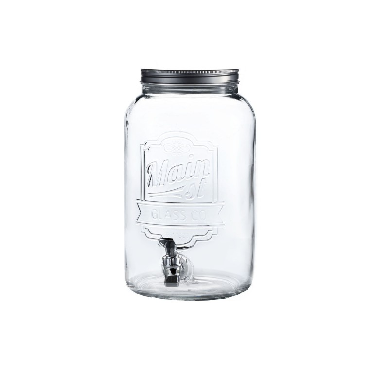 Style Setter Main Street Embossed Beverage Dispenser