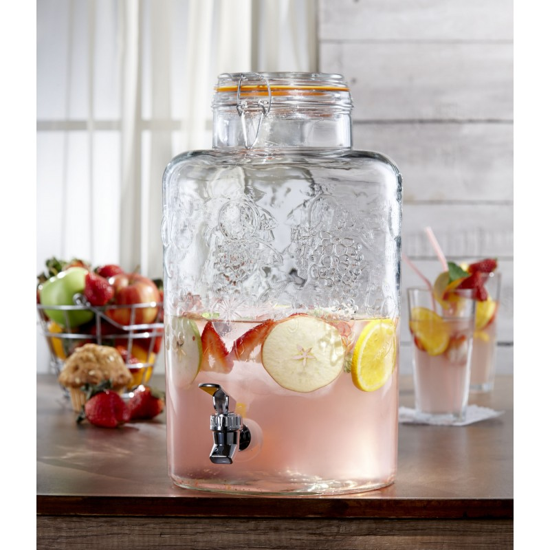 Style Setter Vineyard Fruit Beverage Dispenser