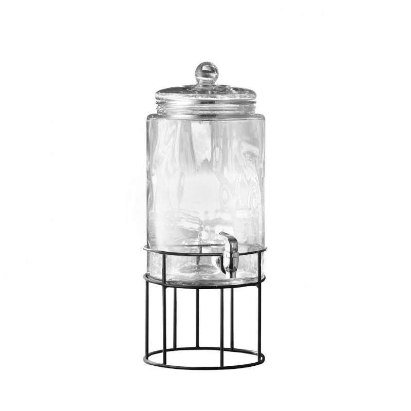 Style Setter Artesia Beverage Dispenser with Metal Stand