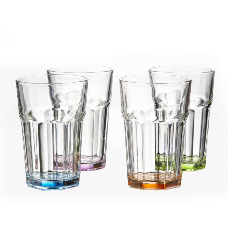 Style Setter Newport Colors Set of 4 Highballs