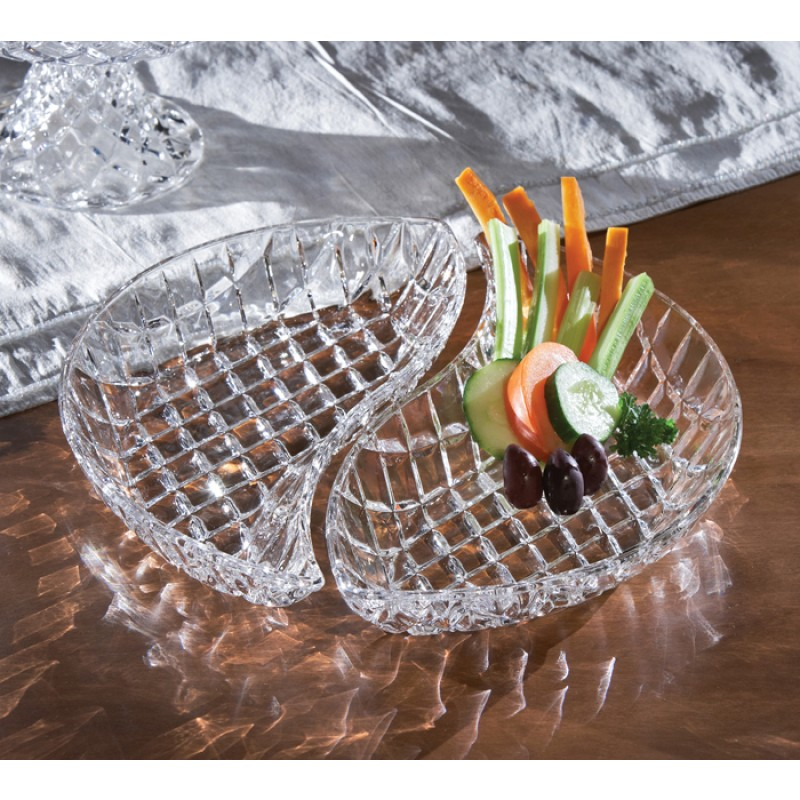 Fifth Avenue Crystal Muirfield Faceted Serving Plates