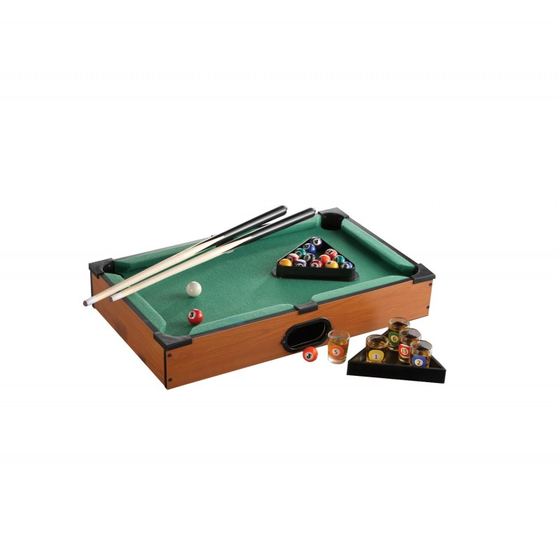 Pool Table Shot Glass Game