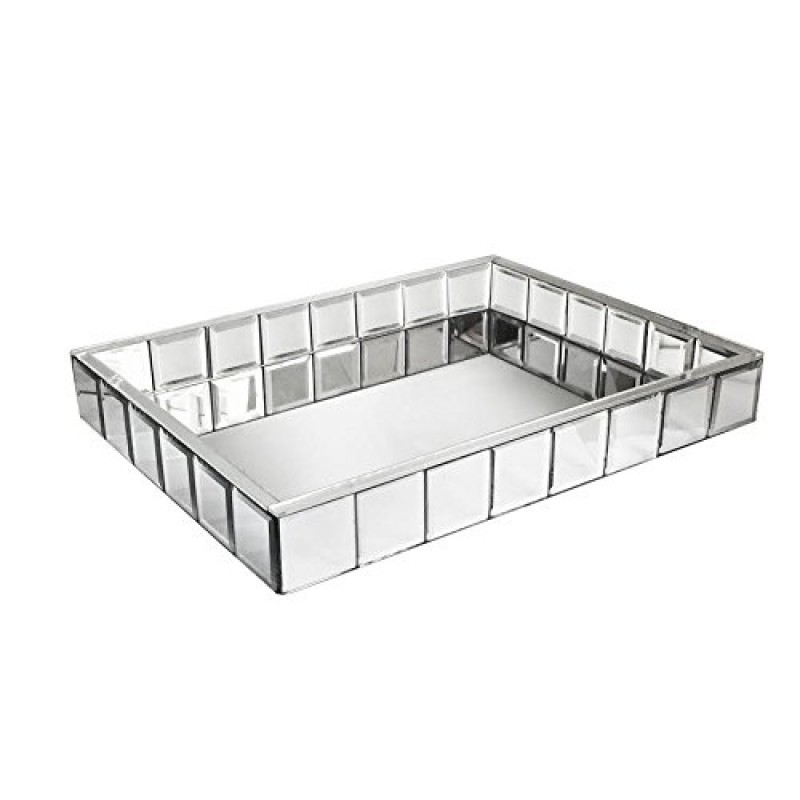 American Atelier Tile Mirror Tray-15x20 Inch