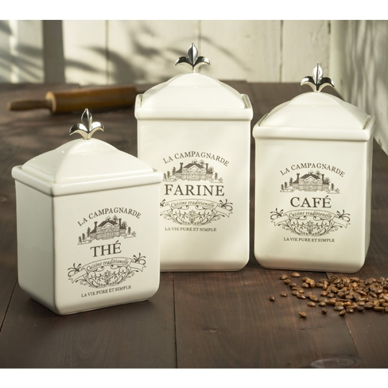 American Atelier Maison 3 Piece Canister Set