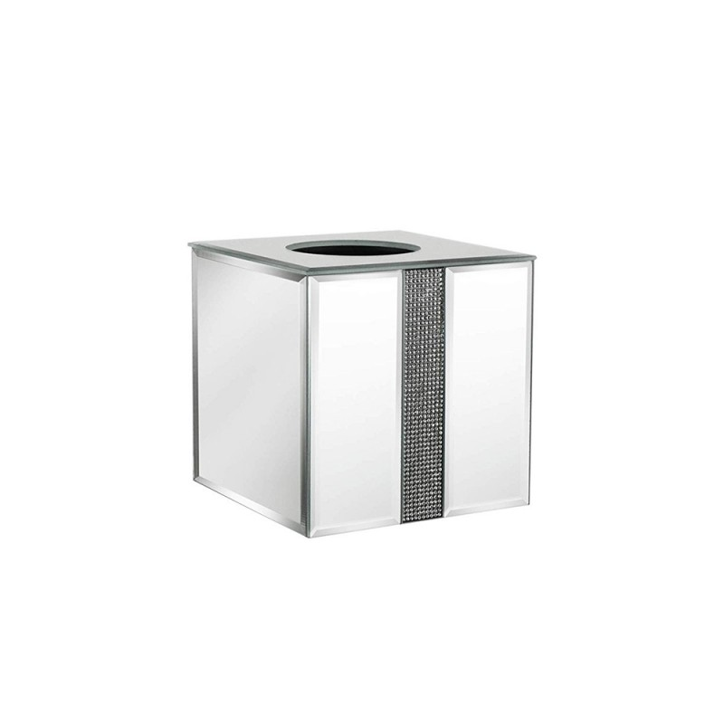 American Atelier Sparkles Square Mirror Tissue Box Holder
