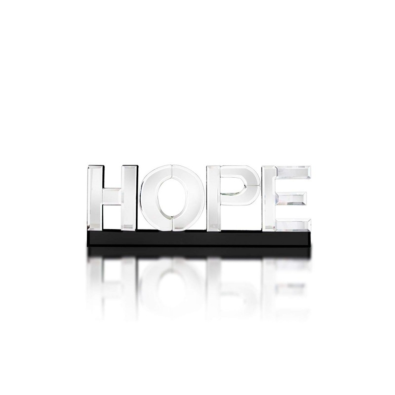 "American Atelier Mirror Word Art ""Hope"""