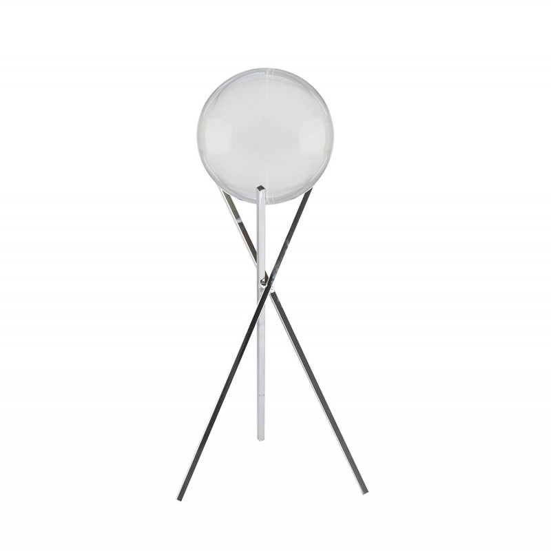 American Atelier 1280694 Sphere Glass Sphere with Stand, Silver