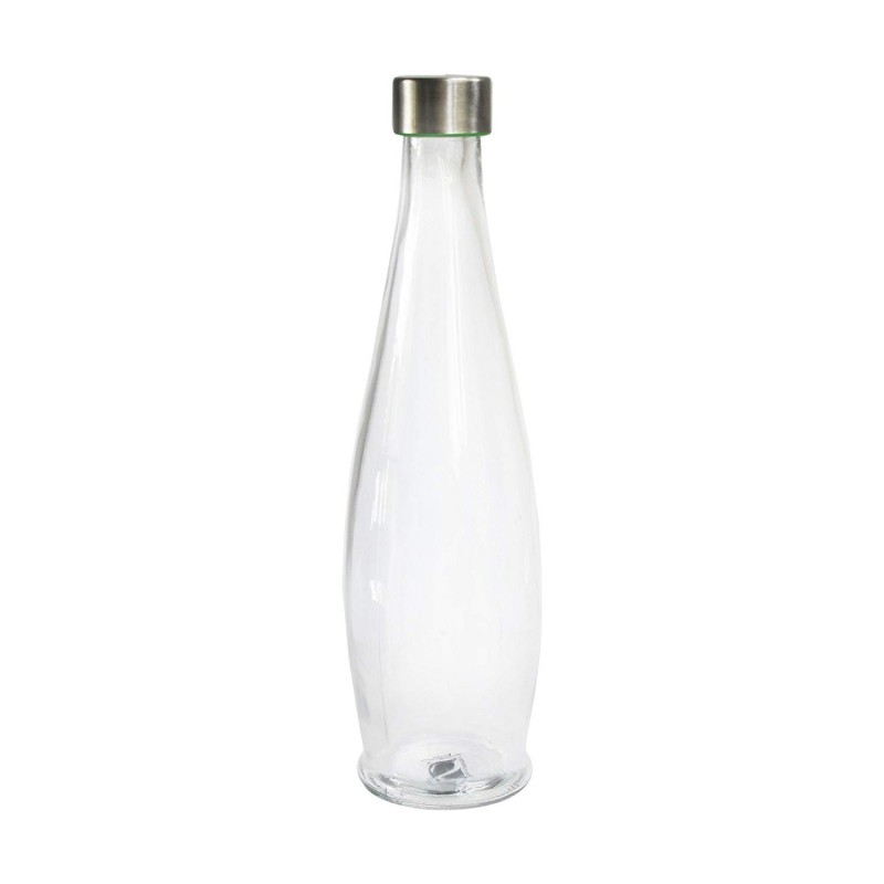 Style Setter 206439 Glass Water Bottle, Clear