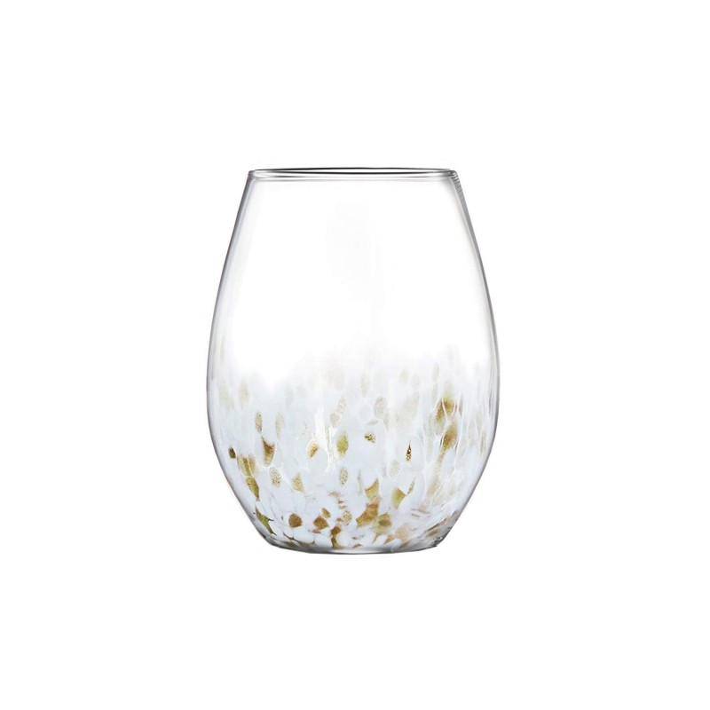 Fitz and Floyd 229565-4ST Stemless Goblets