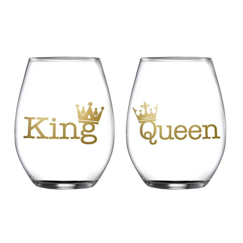 Fifth Avenue Crystal 229454-2STGB King/Queen Set of 2 Stemless Goblets