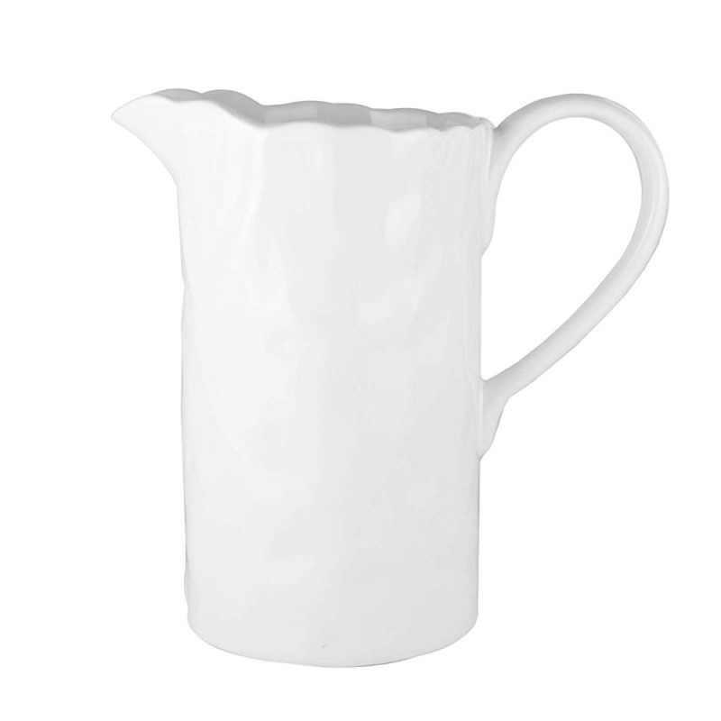 American Atelier 1184429 Ceramic 68 Ounce Pitcher - White