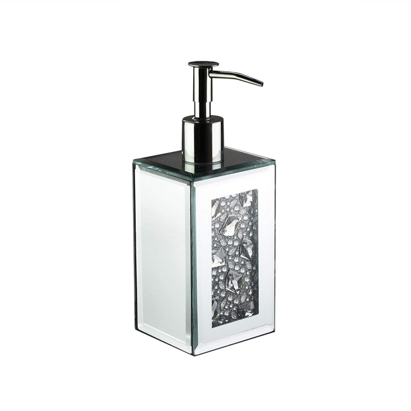 American Atelier Decorative Lotion Dispenser, Silver