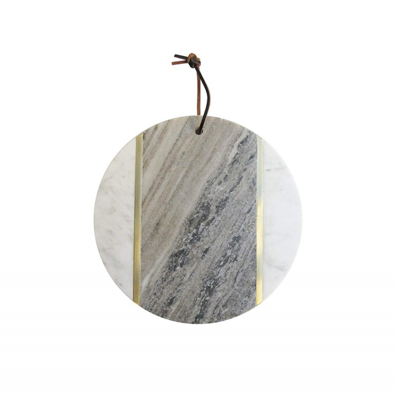 American Atelier 1810033 Marble Cutting Board, White